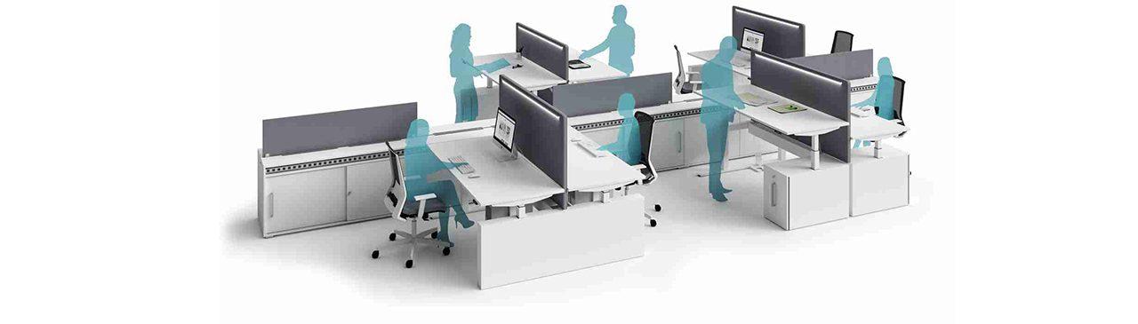 Benessere in ufficio: il Sit-standing desk